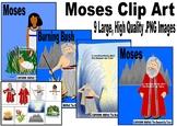 MOSES Clip Art Religious Bible
