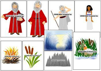 FREE! MOSES Clip Art Religious Bible