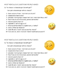 MOST RIDICULOUS QUESTIONS EVER