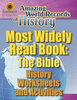 MOST WIDELY READ BOOK: THE BIBLE—History Worksheets and Activities