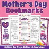 MOTHER'S DAY BOOKMARKS Compliments Coloring Pages for Mom