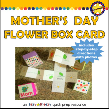 MOTHERS DAY BOX CARD