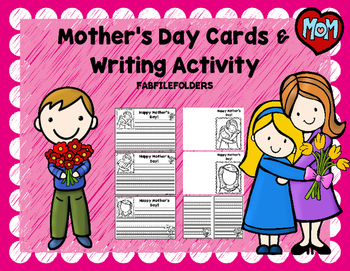 MOTHER'S DAY CARD AND WRITING PAPER