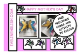MOTHER'S DAY CARDS AND SIMPLE ACTIVITY