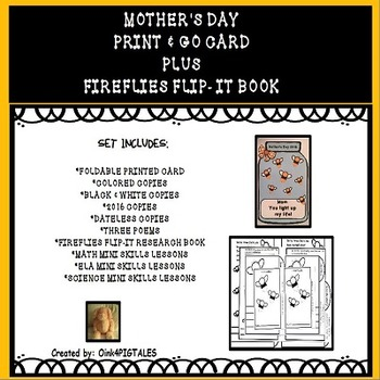 MOTHER'S DAY PROJECT and INTERACTIVE FLIP TAB BOOKS