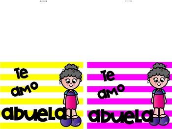 MOTHER'S DAY CARDS in Spanish/ Tarjetas para mamá