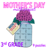 MOTHER'S DAY CRAFT - FLOWERS THIRD GRADE MATH PROJECT