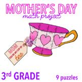 MOTHER'S DAY CRAFT - THIRD GRADE MATH - TEA CUP