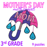 MOTHER'S DAY CRAFTS - THIRD GRADE MATH - UMBRELLA
