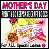 Mothers Day Student Completion Book and Craft for Mother Figures