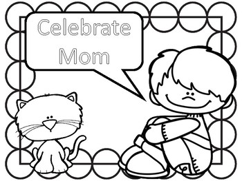 MOTHER'S DAY coloring and activities
