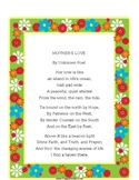 MOTHER'S LOVE Poem
