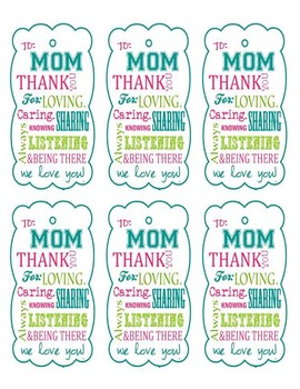 Mothers Day Bookmarks Bundle 8 Pages 9 Bookmark Templates