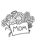 MOTHERS DAY COLORING, BUNDLE 16 PAGES, MOTHERS DAY ACTIVIT