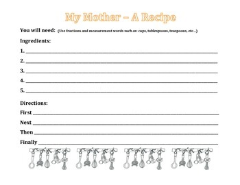 MOTHER'S DAY UNIT: Coupon  Book/Writing Activity/Coloring Activity (GRADES 1-3)