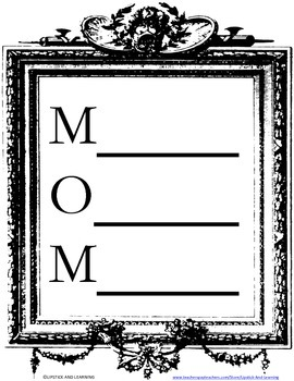 MOTHER'S DAY FREEBIE Gift for Mom