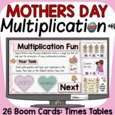 MOTHERS DAY MULTIPLICATION ACTIVITY: DIGITAL BOOM CARDS DI