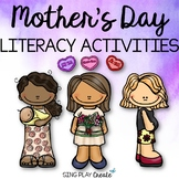 Mother's Day Songs, Poems, Script and Literacy Activities with Invitations