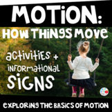 MOTION: How Things Move (PreK/Kinder/1st/2nd) (TEKS & CCSS
