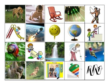 MOTION - The Way Things Move - Activity in Spanish