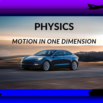 MOTION IN ONE DIMENSION ( notebook)