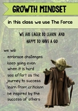 MOTIVATION POSTER - Growth Mindset - The Force