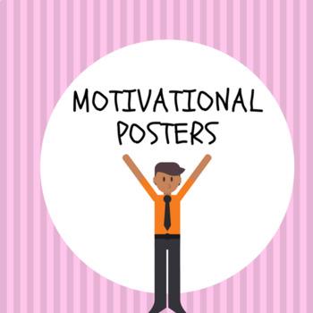 MOTIVATIONAL POSTERS- BUNDLE