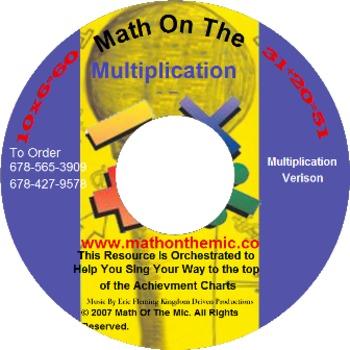 MOTM Multiplication Facts CD