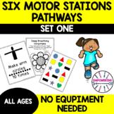 MOTOR STATIONS for self regulation / sensory room / gross motor