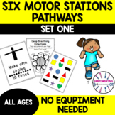 MOTOR STATIONS / SENSORY PATHWAY for gross motor / sensory