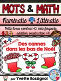 Mathématiques de Noël - Les cannes de Noël - French Christmas Math