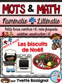 MOTS & MATH (Les biscuits de Noël) French Christmas