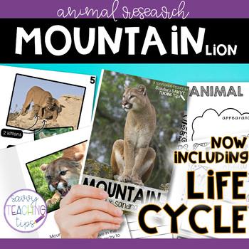 MOUNTAIN LION - nonfiction animal research