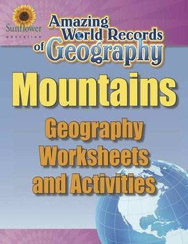 MOUNTAINS—Geography Worksheets and Activities