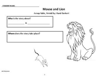 MOUSE and LION Read-Aloud Lesson