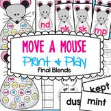 Final Blends Phonics Games - Move a Mouse
