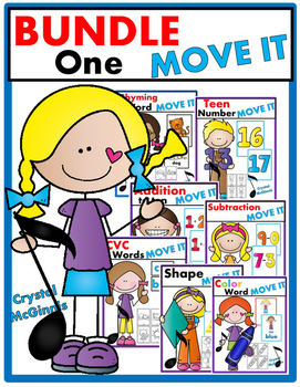 JUST MOVE! BUNDLE ONE (7 Get Up and Move Around the Classroom Games)