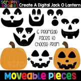 MOVEABLE IMAGES - Create a Digital Jack O Lantern {Scrappi