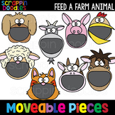 MOVEABLE IMAGES - Feed A Farm Animal {Scrappin Doodles Clip Art}