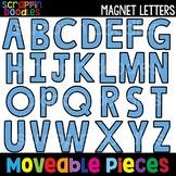 MOVEABLE IMAGES - Magnet Alphabet {Scrappin Doodles Clip Art}
