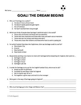 MOVIE GUIDE: GOAL! The Dream Begins / ¡Gol! El Sueño Imposible