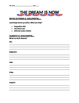 """MOVIE GUIDE- """"The Dream is Now"""""""