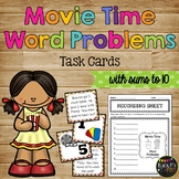 Word Problems Addition and Subtraction up to 10 Movie Theme