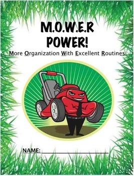MOWER Organizational Binder