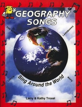 MP3 Australia Song from Audio Memory's Geography Songs CD