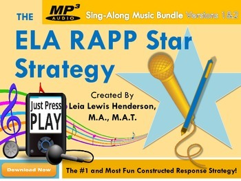MP3 DIGITAL DOWNLOAD: The ELA RAPP Star Strategy Sing-Along Music (VERSION 1&2)