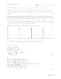 MPM1D - Principles of Mathematics Final Exam Review Sample (Grade 9)