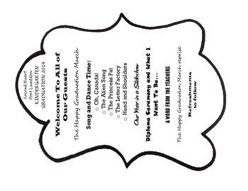 Mrs Fdk Doyle Ideas Kindergarten Graduation Fan Programme