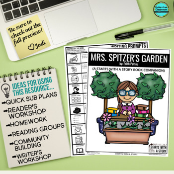 MRS. SPITZER'S GARDEN Activities and Read Aloud Lessons
