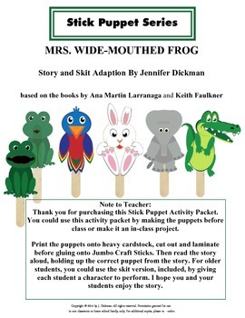 MRS. WIDE-MOUTHED FROG